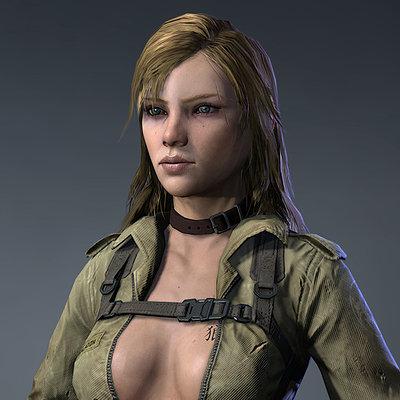 Game model beauty