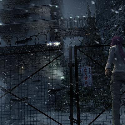 The Wolverine . Concept Art . Yashida Tower