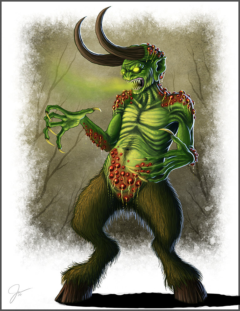 Stinky Swamp Devil