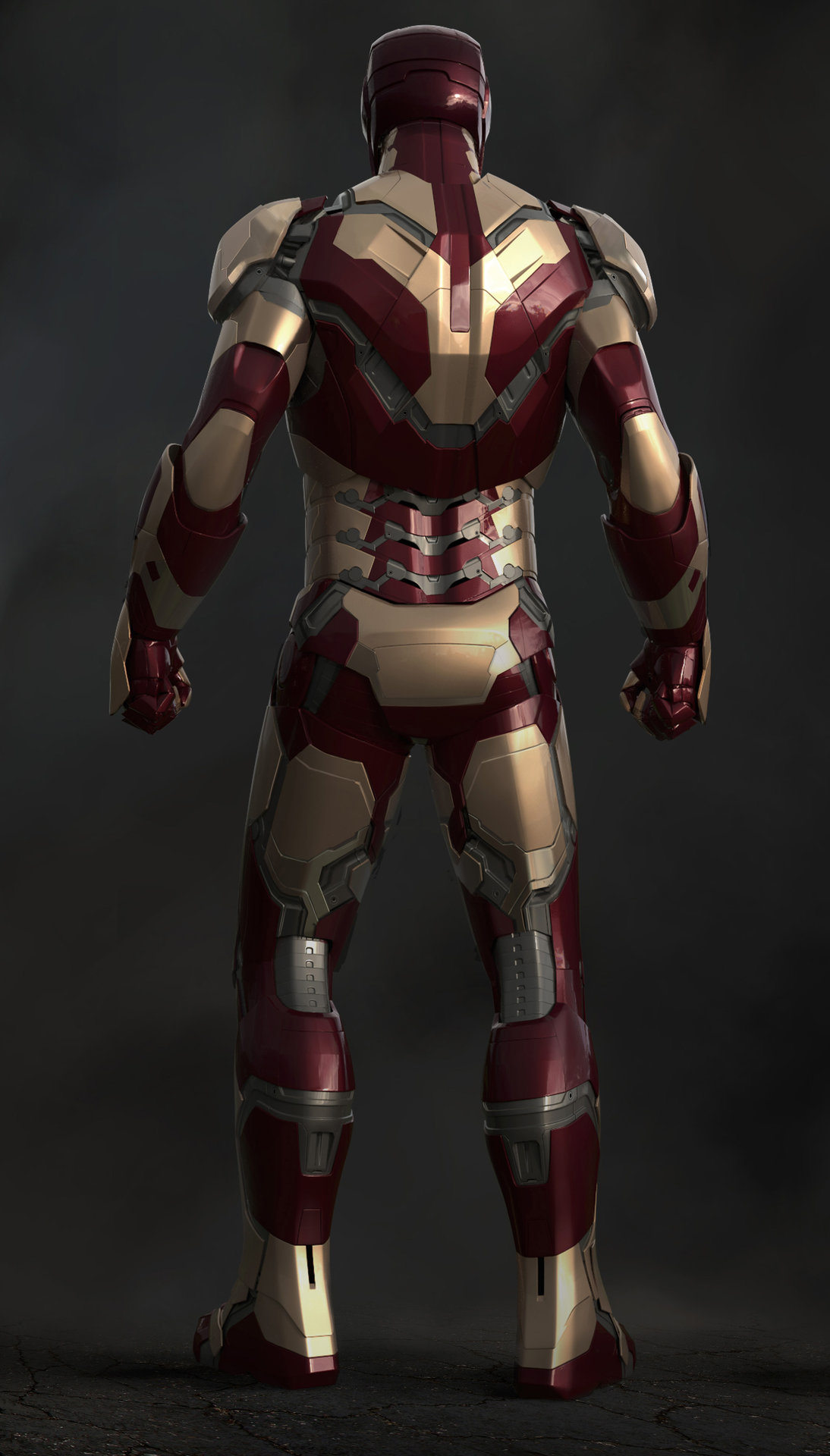 ArtStation - Iron Man 3 - Mark 42 Back, Josh Herman
