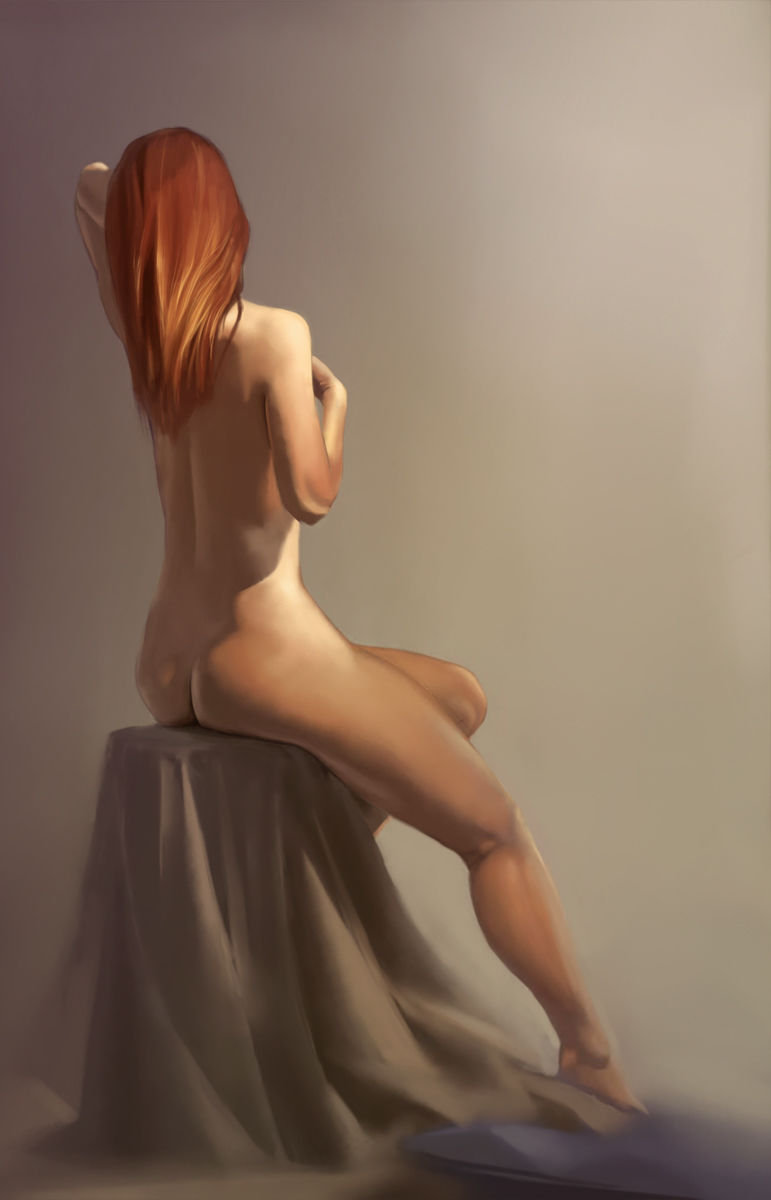 3H figure painting from life