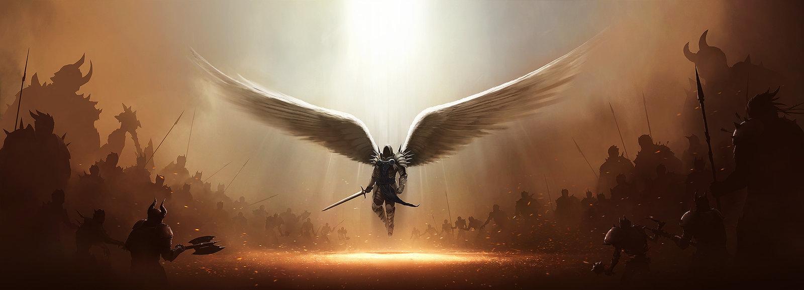 Tyrael Vs Hell