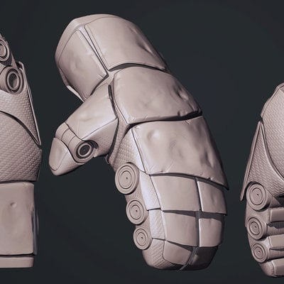 Droidsforsale real steel atom glove