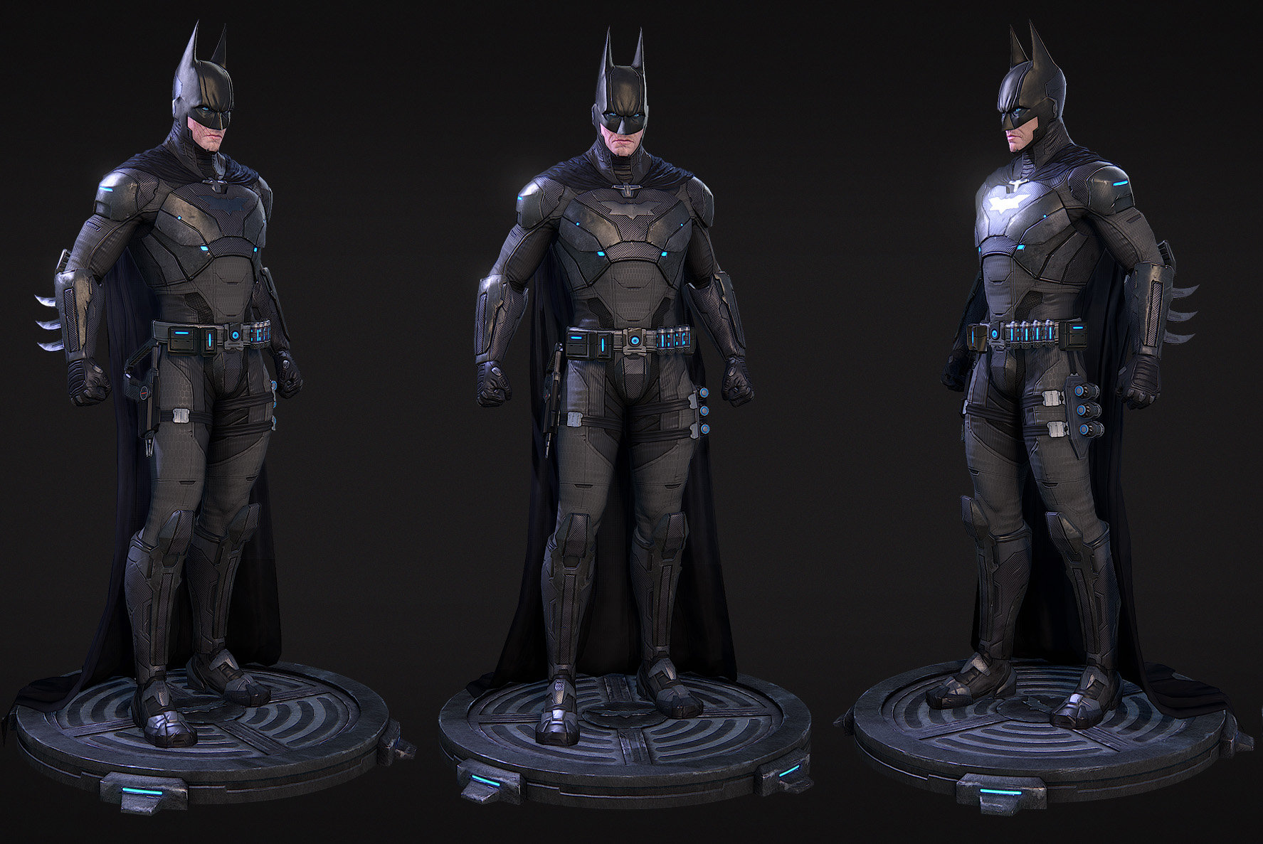 Cghub bg batman turnaround