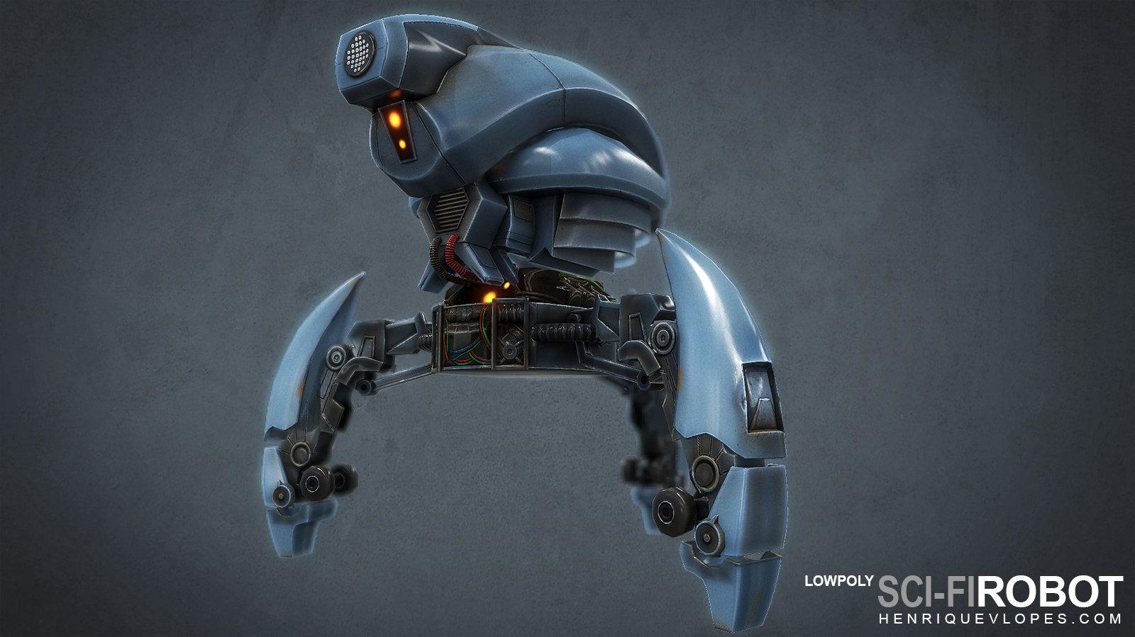 Scifirobot lowpoly02