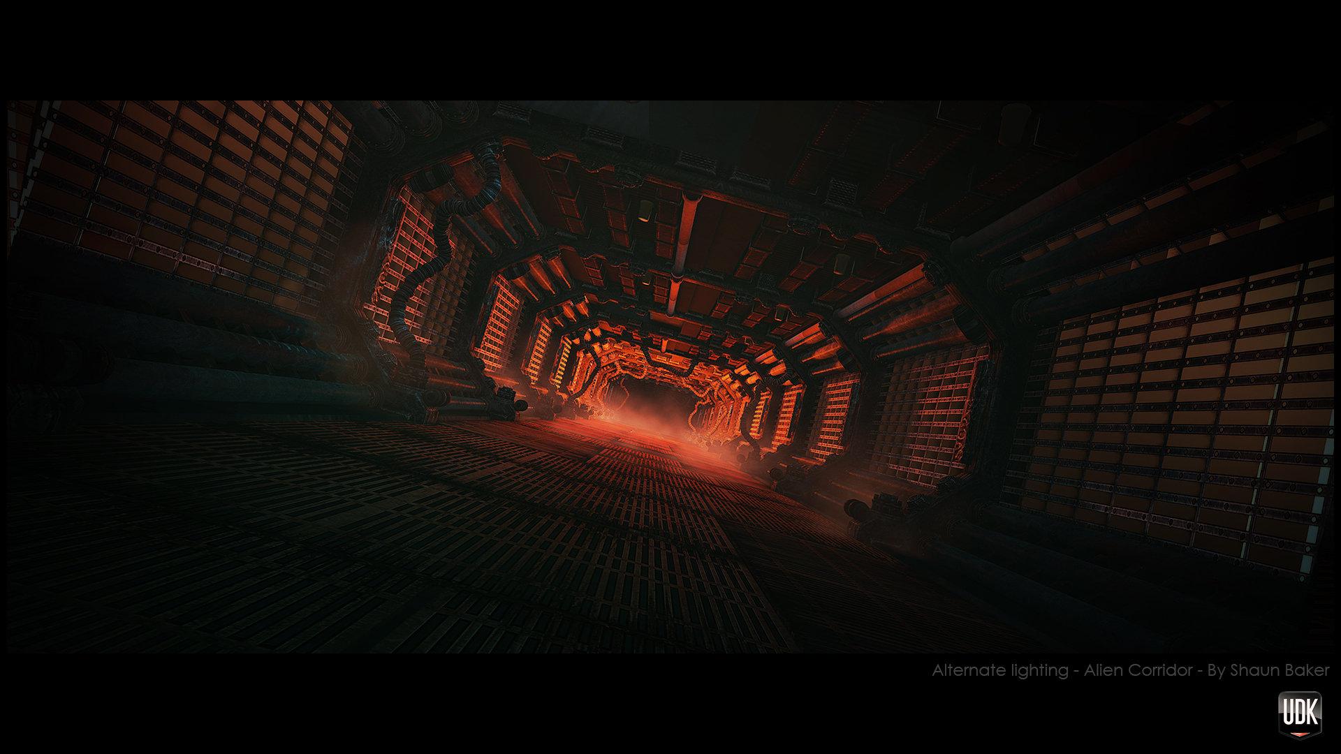 Aliencorridoralternatescene