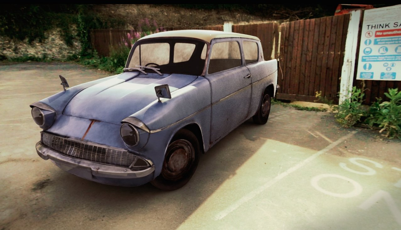 Anglia Car