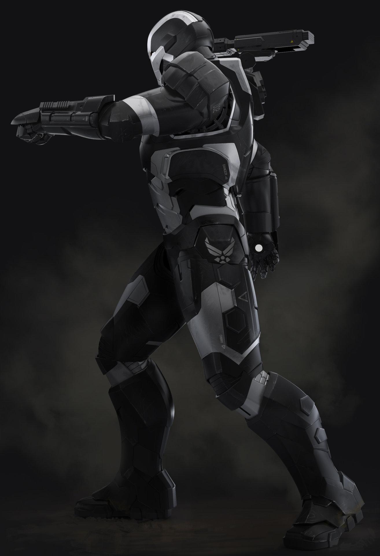 Droidsforsale iron man 3 war machine side