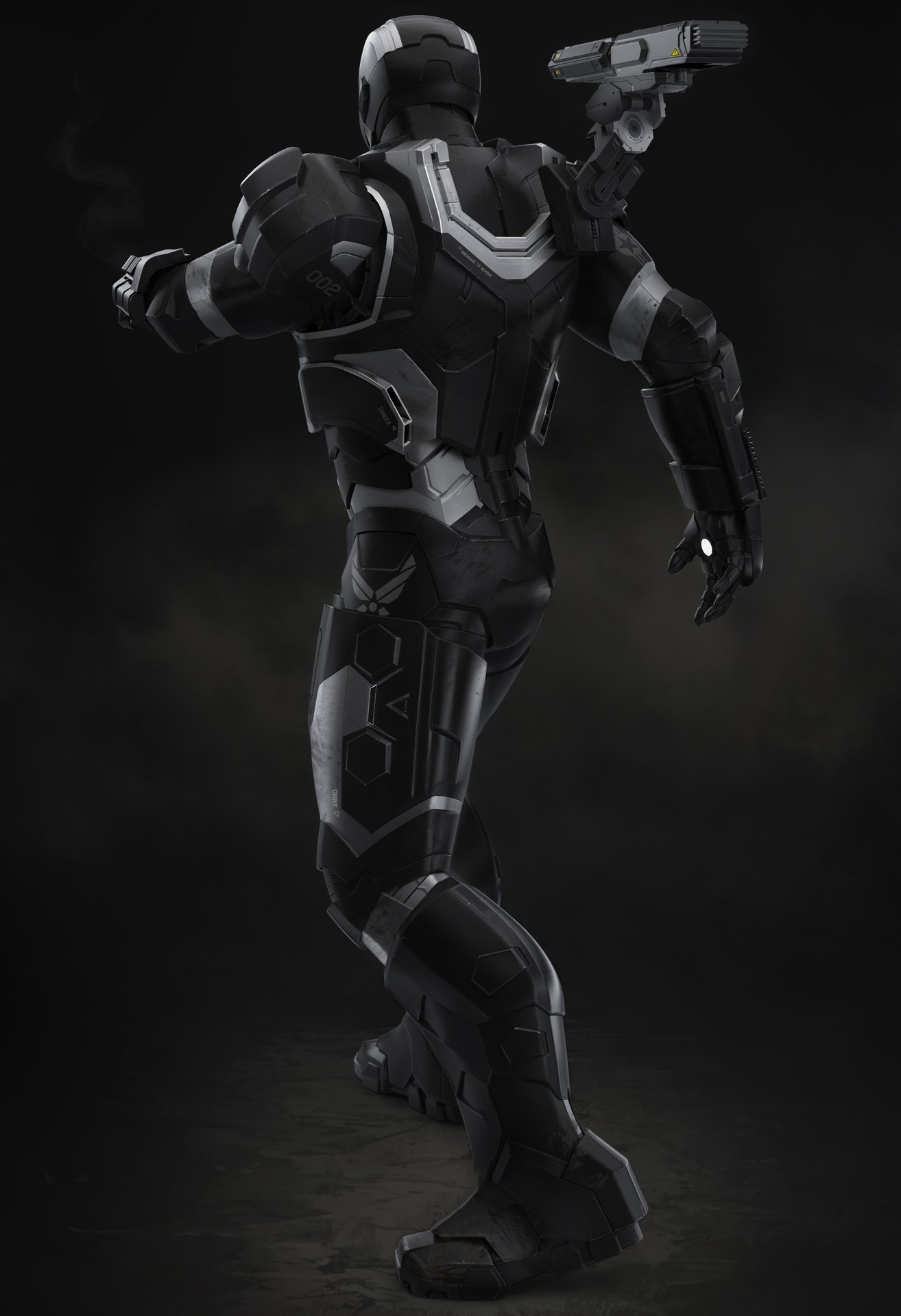 Droidsforsale iron man 3 war machine back