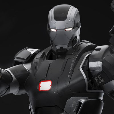 Droidsforsale iron man 3 war machine front