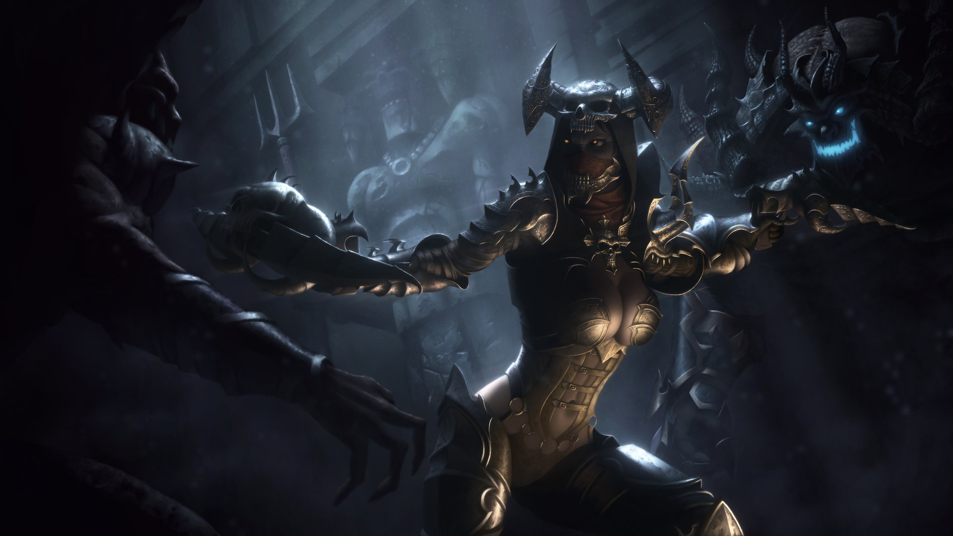Artstation Diablo Iii Reaper Of Souls Demon Hunter Igor Ivanovic