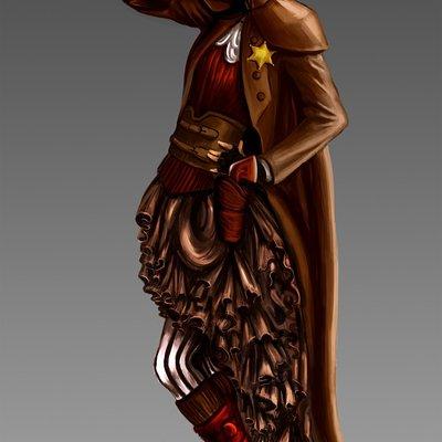 Steampunk sheriff girl final
