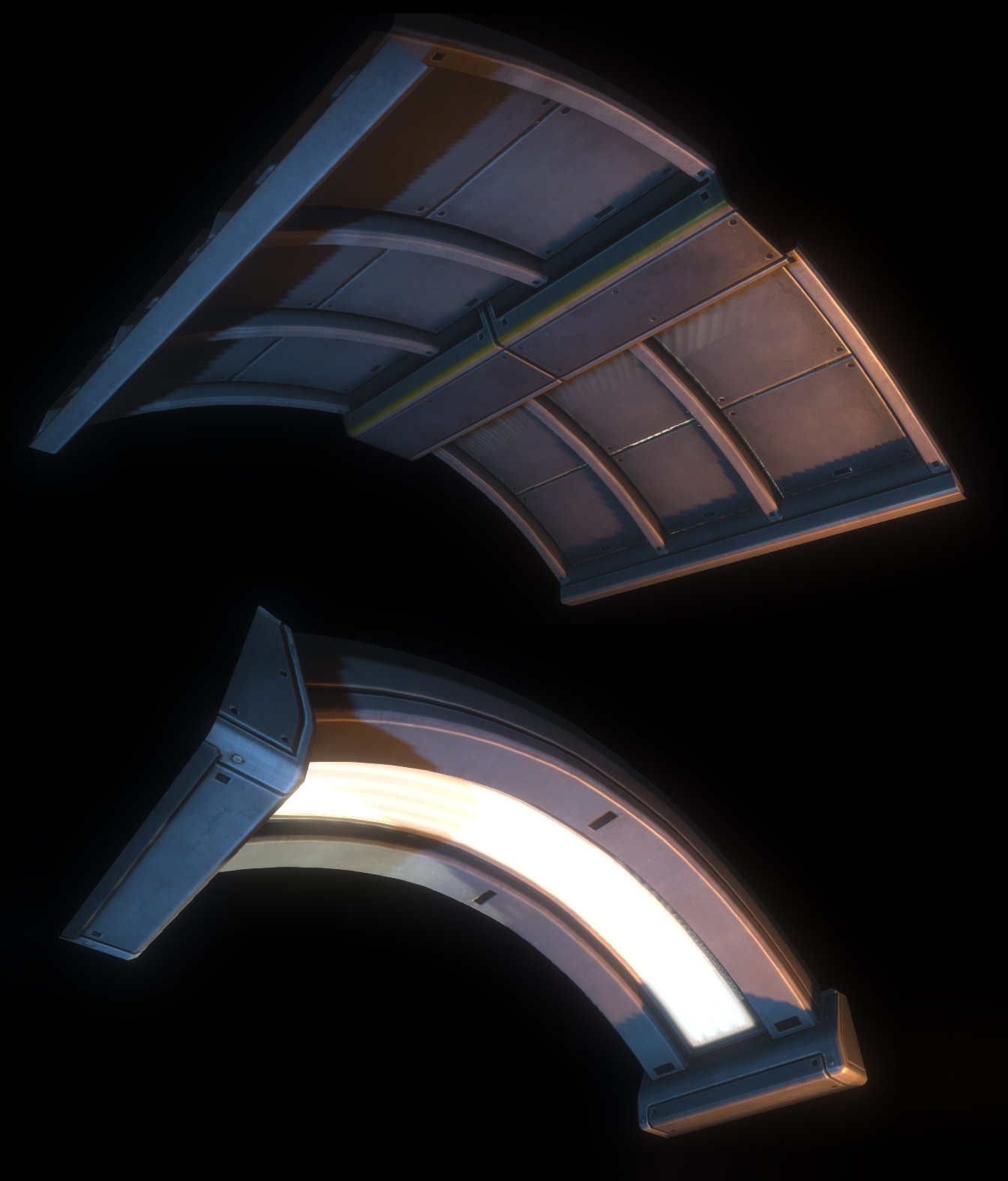 Asset - Natural Selection 2 - Ceiling Pieces