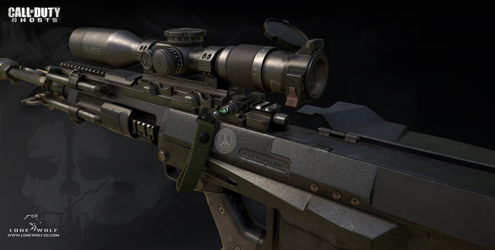 Call of duty ghosts gm6 model 02