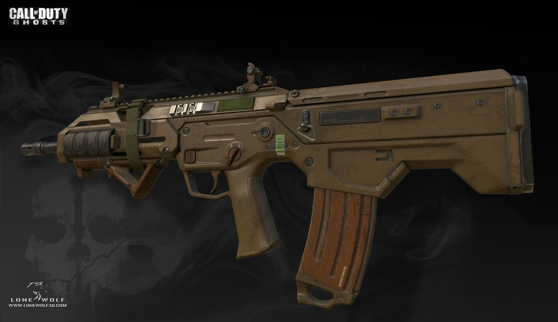 Call of duty ghosts msbs game model 02