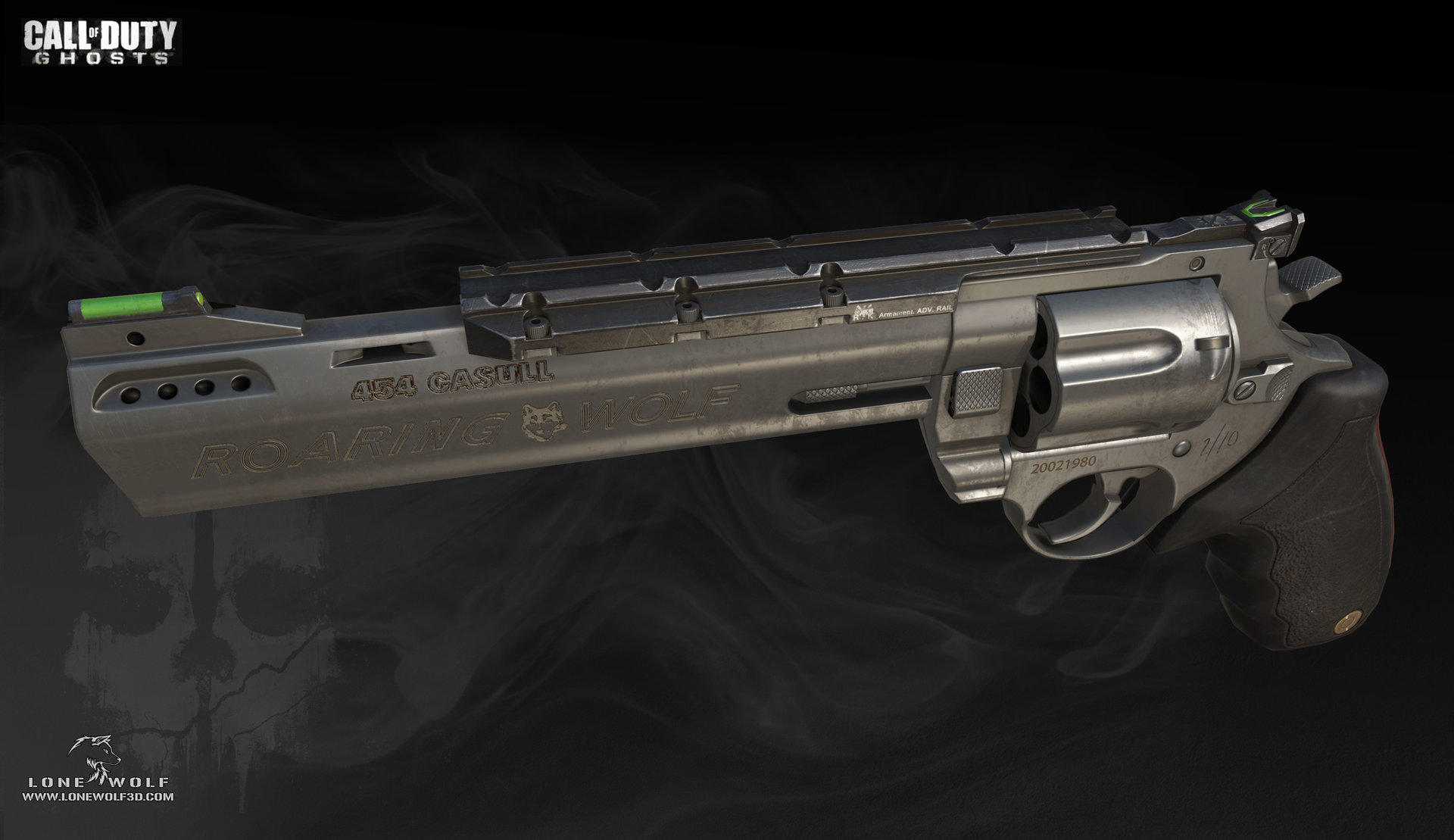 Call of duty ghosts raging bull game model 01