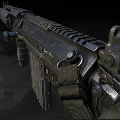 Call of duty ghosts sc2000 game model 01