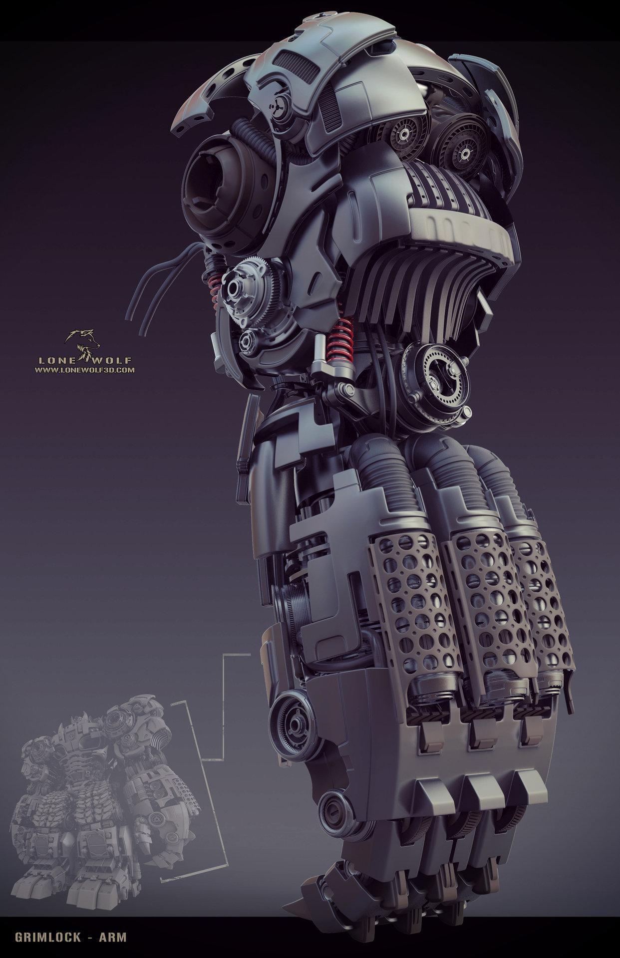 Grimlock arm 02cghub