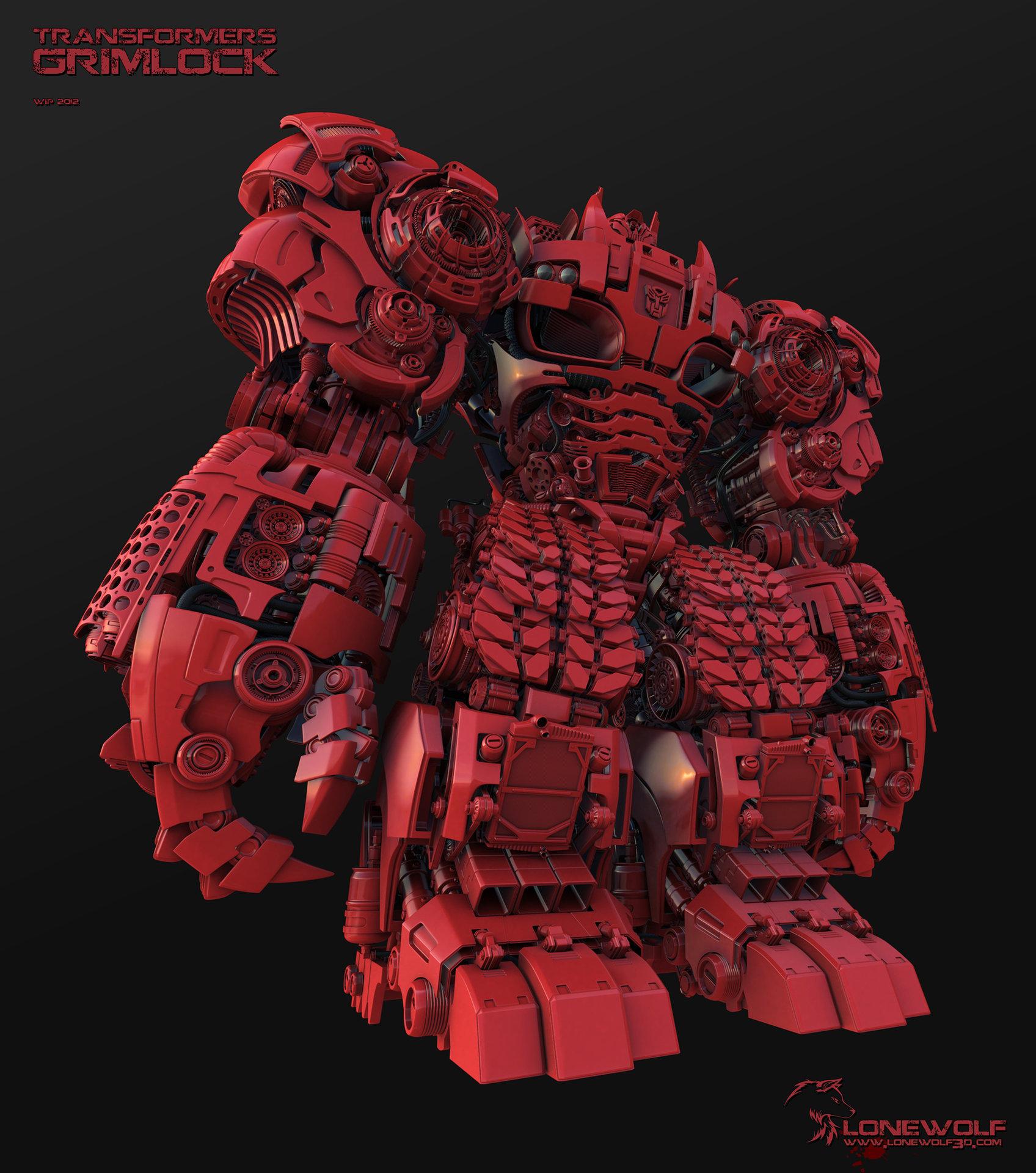 Grimlock transformers tf4 01