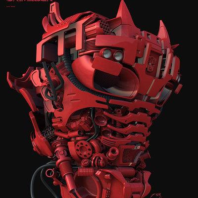 Grimlock transformers tf4 07