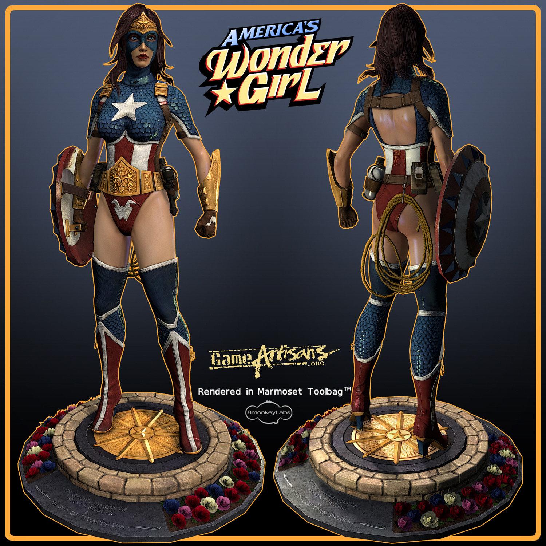 Comicon Challege 2011 America's Wondergirl