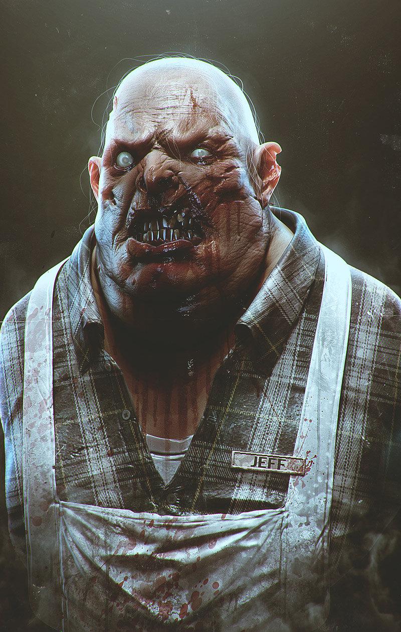 Jeff the zombie