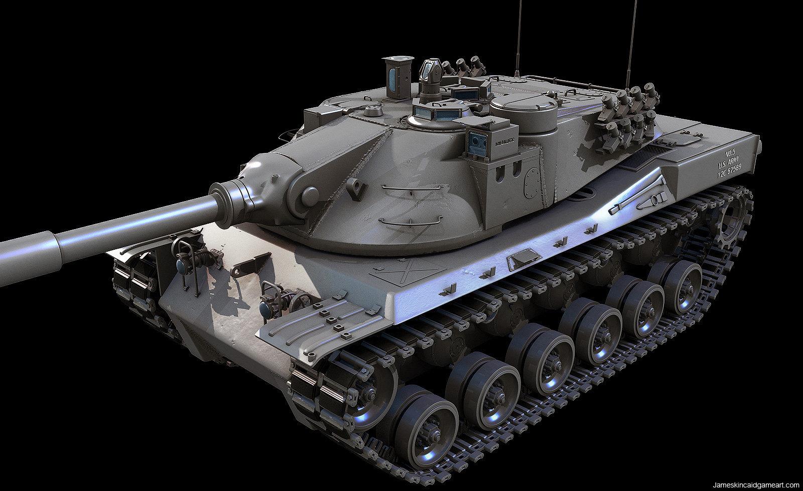 a1ae674528f9 ArtStation - MBT-70 MAIN BATTLE TANK