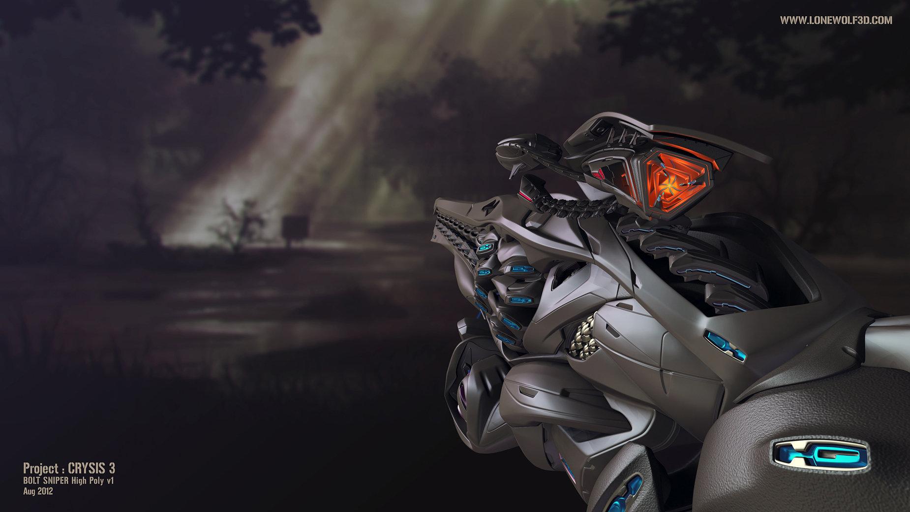 Crysis3 bolt lightning