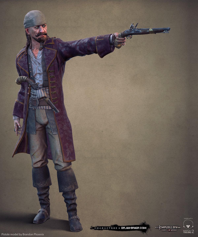 Chivalry: Deadliest Warrior Pirate Class
