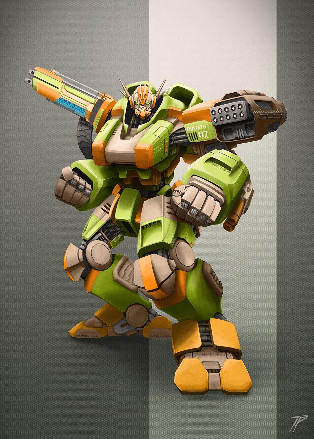 Goliath Mecha