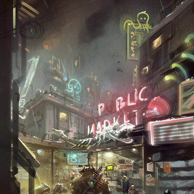 Shadowrun Returns: Pike Place