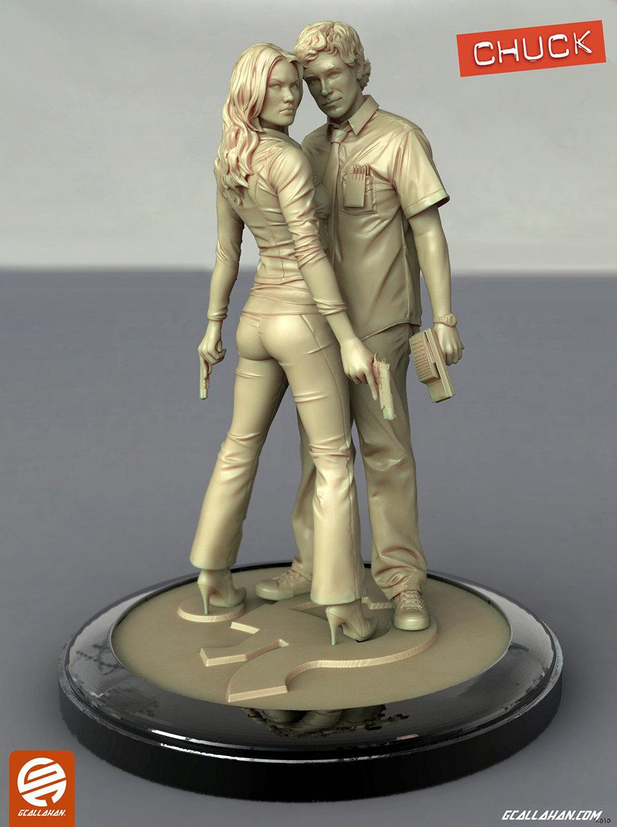 Chuck statue callahan