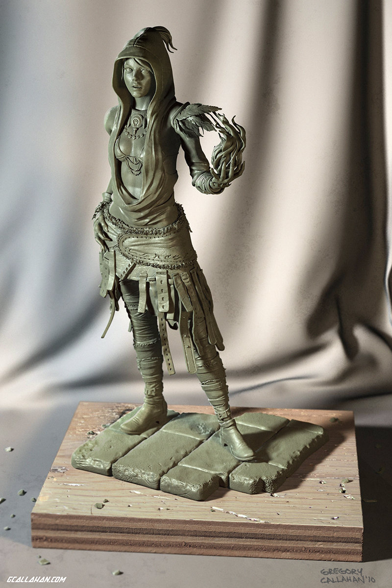 Dragonage clay callahan