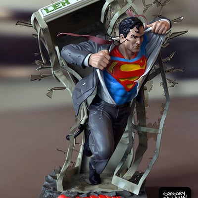 Superman bust c callahan