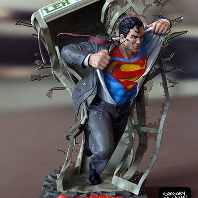 Superman bust c callahan