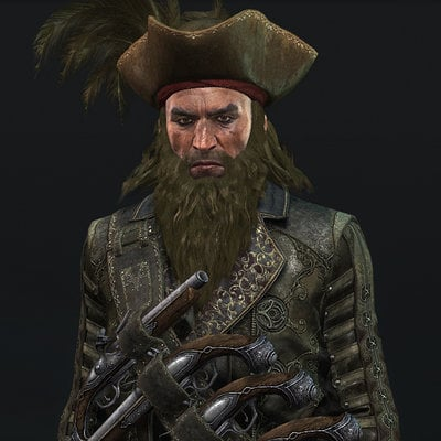 Assasin's Creed Black Flag, Blackbeard
