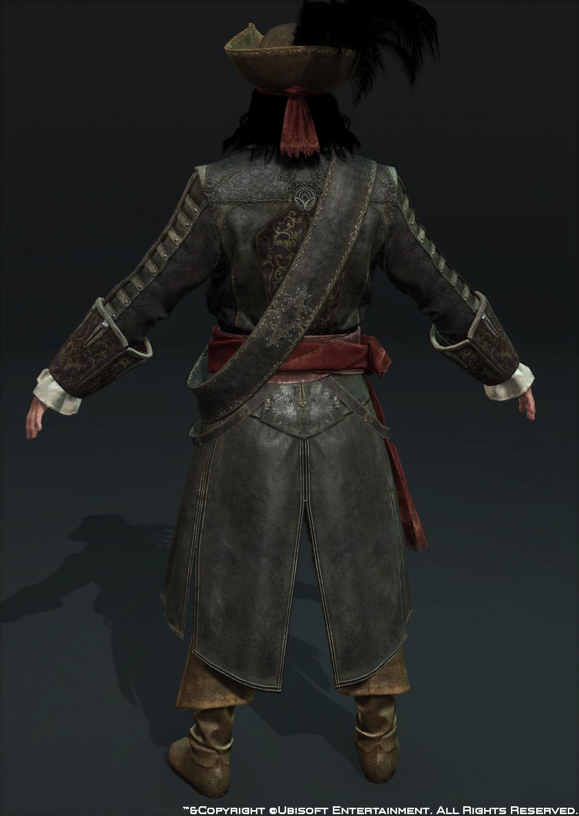 Body blackbeard back