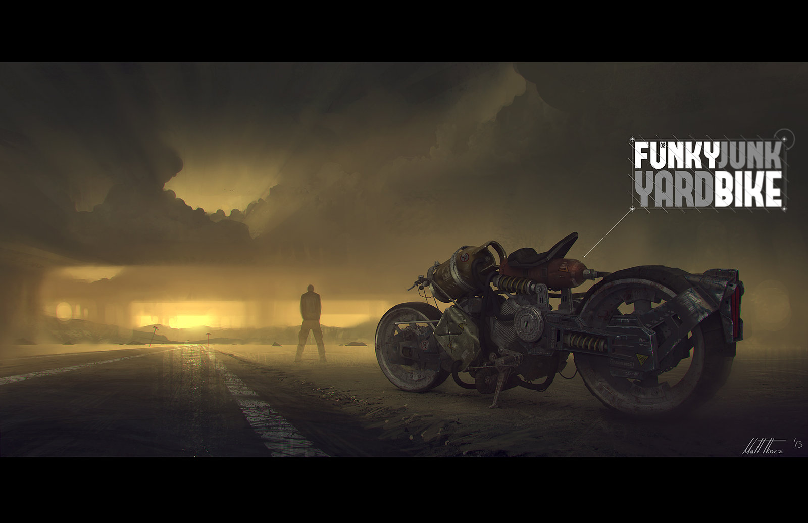 Funky Junk Yard Bike