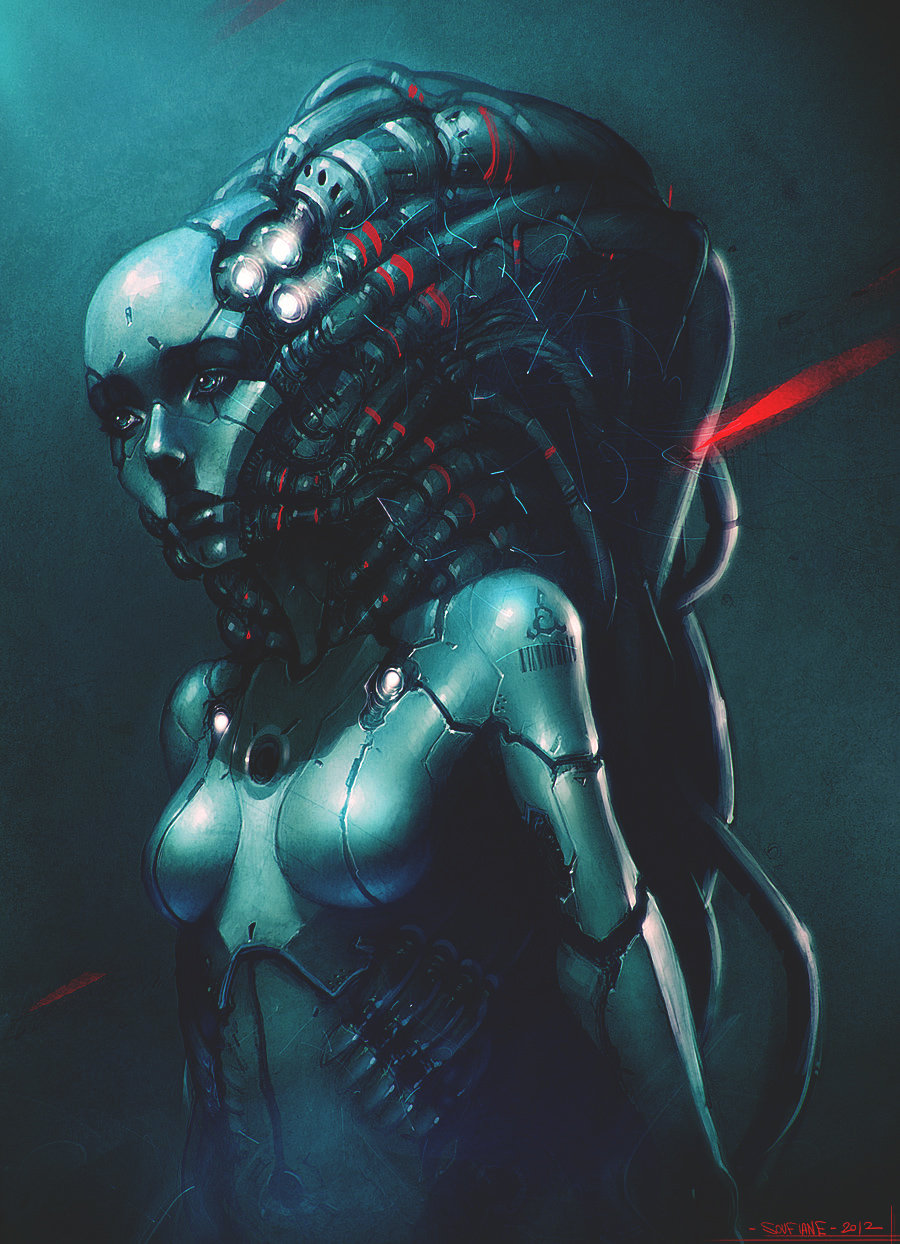 Robotic girl   finished by streetx222 d5gx4nz