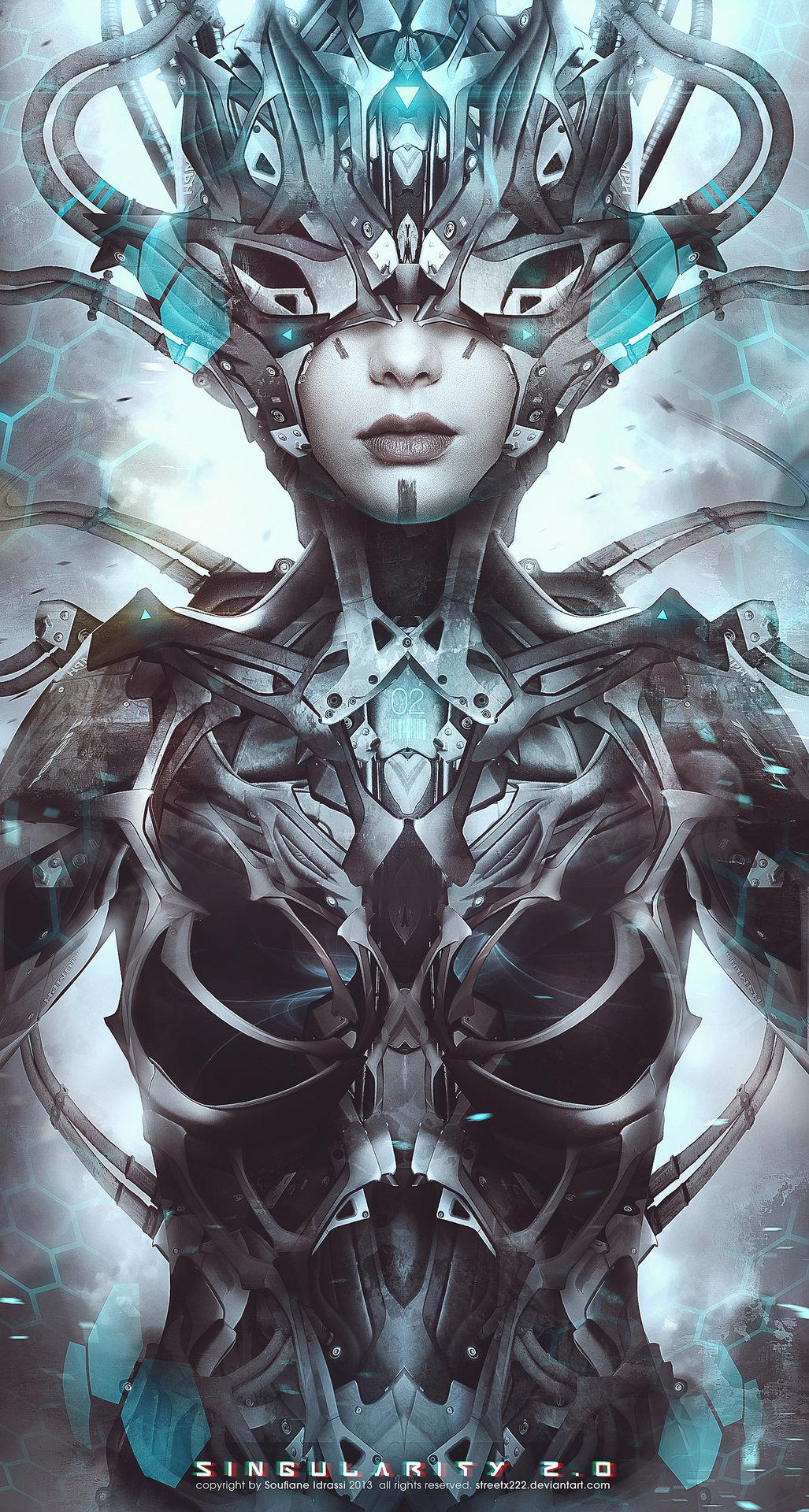 Cyborg 02 body low