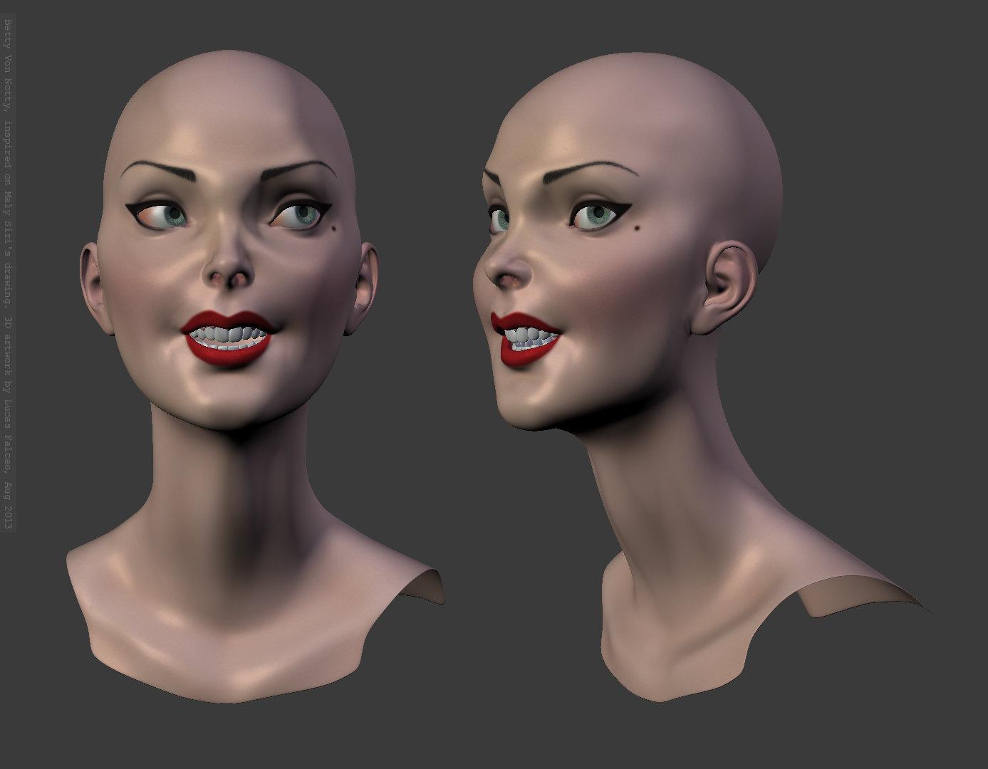 Betty skin texture