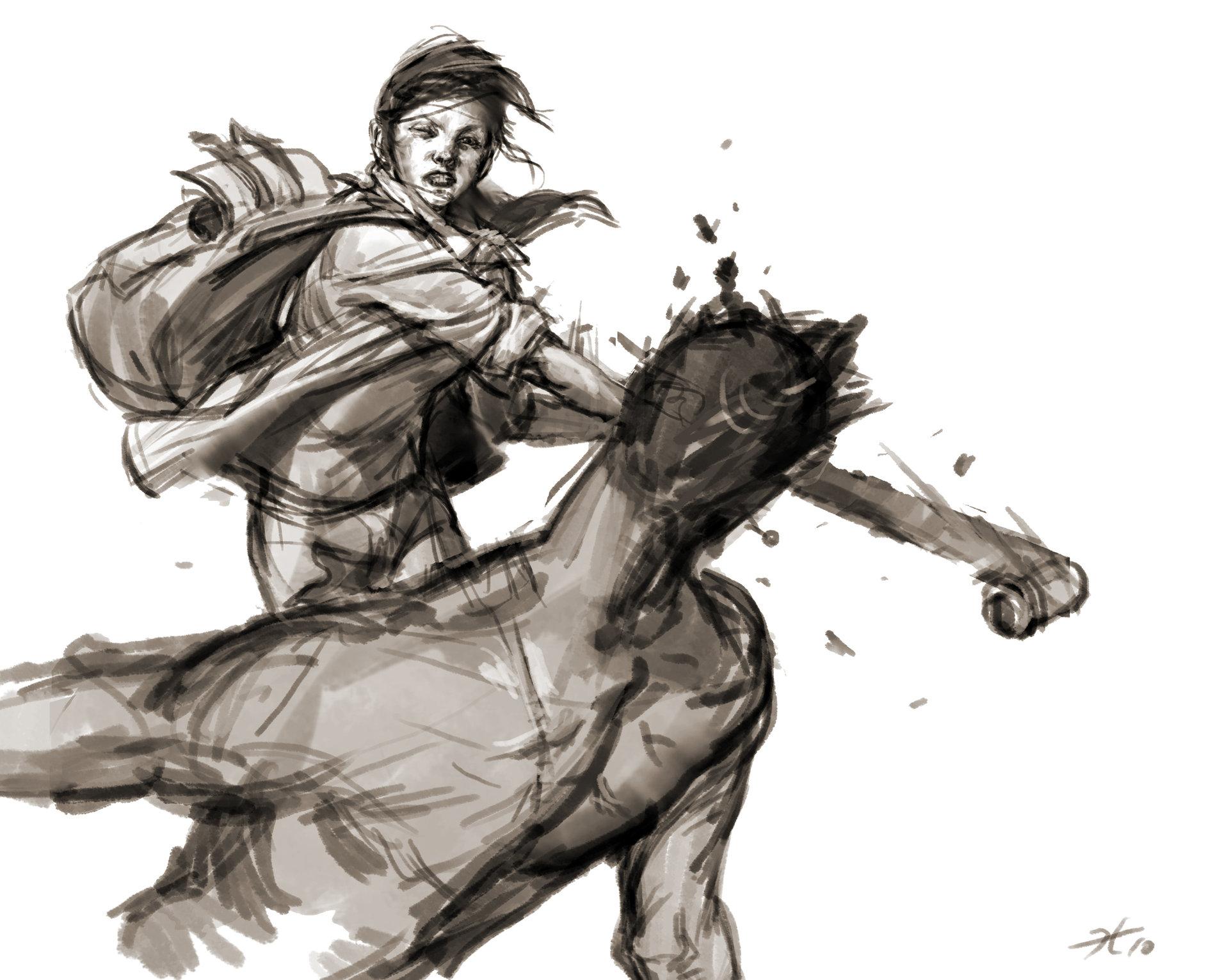 Heroine sketch hn 01