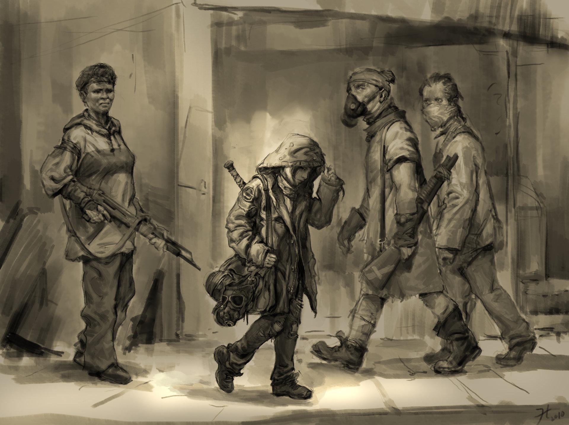 Heroine sketch hn 10