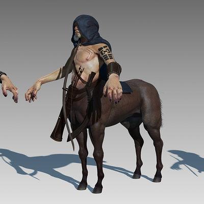 Personal Work:  Centaur Design