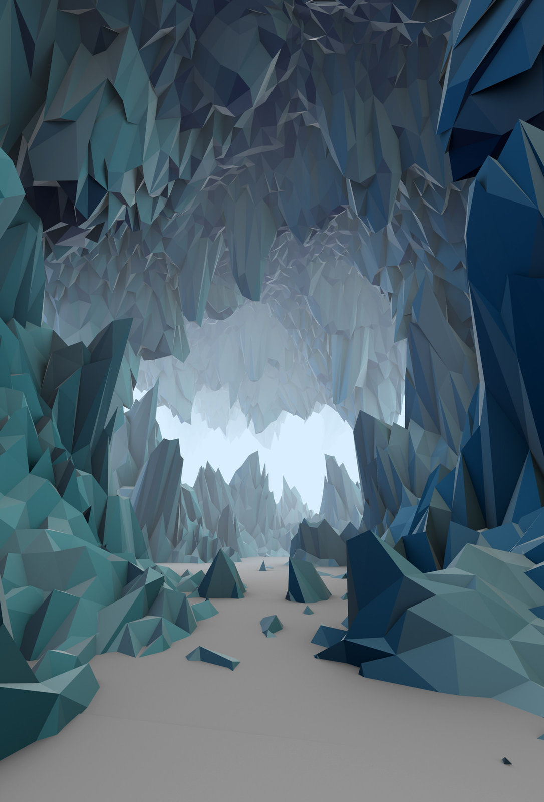 The Ice Cavern