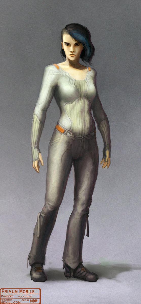 Primum Mobile | Character Concept : Claudia