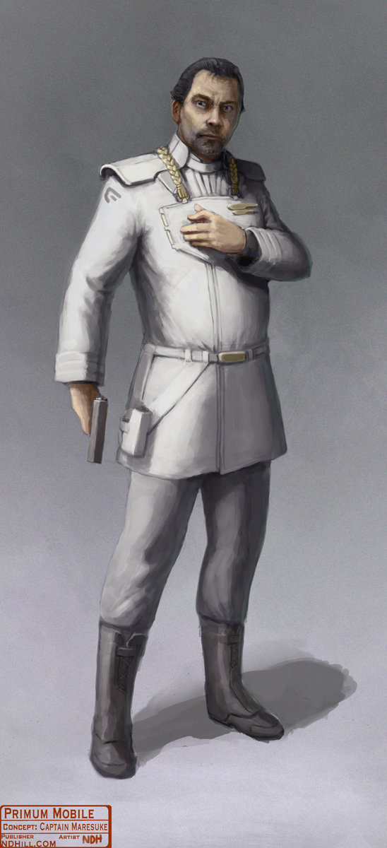 Primum Mobile | Character Concept : Marasuke