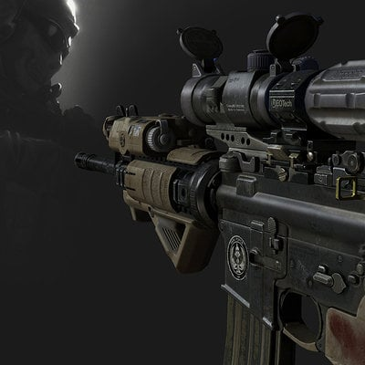 Ghost m4 call of duty