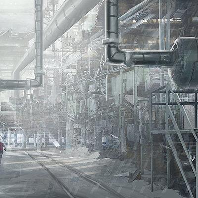 Industrial matte paint
