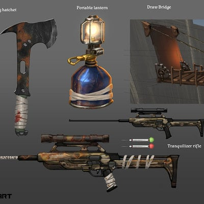Rust fan concept art